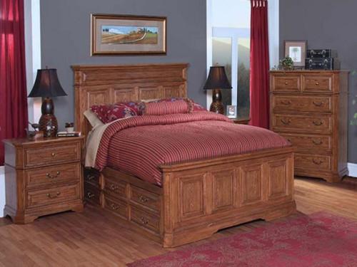 FELTON KING  3 PIECE BEDSIDE BEDROOM SUITE (11-9-14-7-19-15-14)