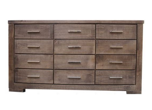 RUSTIC  12 DRAWER CHEST (RT12DCH)
