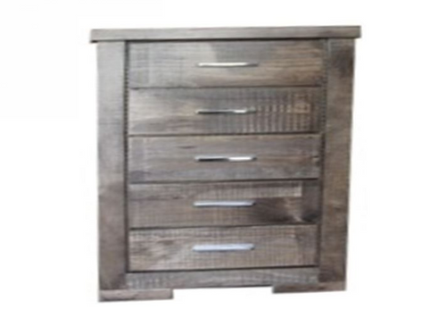 RUSTIC 5 DRAWER CHEST (RT245) - RUSTIC