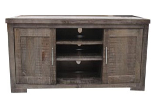 RUSTIC  2 DOOR TV UNIT (RTTV-3) - 1650(W) -  RUSTIC