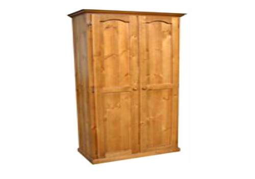 MUDGEE 2 DOOR ALL HANGING WARDROBE WITH HAT RACK -  1830(H) x 900(W) - ASSORTED COLOURS
