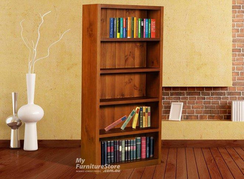SUSSIE BOOKCASE (6 X 3) - 1800(H) X 900(W) - ASSORTED COLOURS
