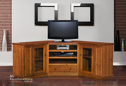 MOSAIC 3 PIECE CORNER TV ENTERTAINMENT UNIT - 1780(W) -ASSORTED COLOURS