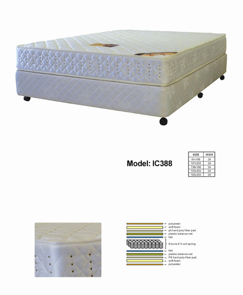 SINGLE STARDUST IC388 MATTRESS - SUPER FIRM