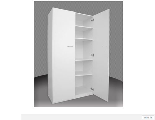 P700 PANTRY - 2 DOOR - 1800(H) X 700(W)  - ASSORTED COLOURS AVAILABLE