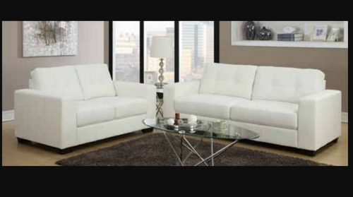 ARGO   3S + 2S LEATHERETTE  LOUNGE SUITE - AVAILABLE IN BROWN OR BLACK