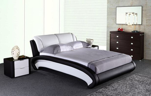 KING WOLVER  LEATHERETTE BED ONLY (G1026#) - ASSORTED COLORS
