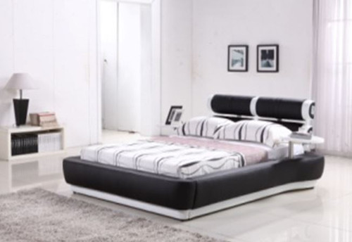 KING SALFORD  LEATHERETTE BED ONLY  BEDHEAD (G992#) - ASSORTED COLORS