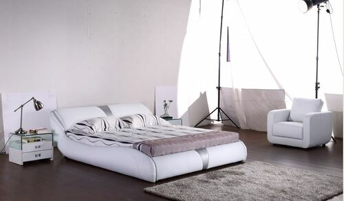 KING  MARCUS LEATHERETTE BED (G1066#) - ASSORTED COLORS