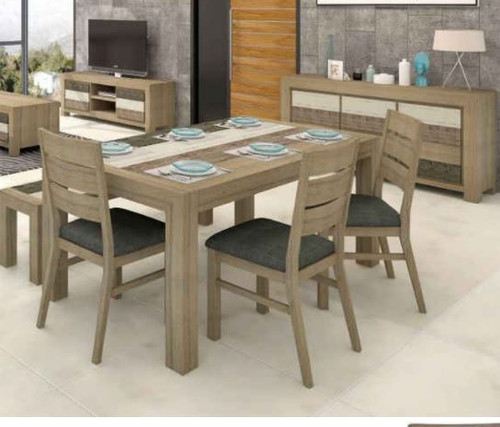HIGHLAND 7 PIECE DINING SETTING  (3-8-1-20-5-1-21) 1800(W) X 1000(D) - MULTI COLOR
