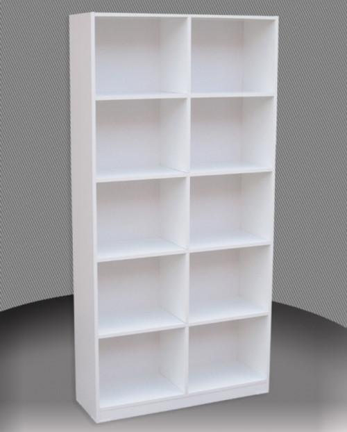 6FT BOX BOOKCASE (BOX6x4) - 1800(H) x 1200(W) - ASSORTED COLOURS