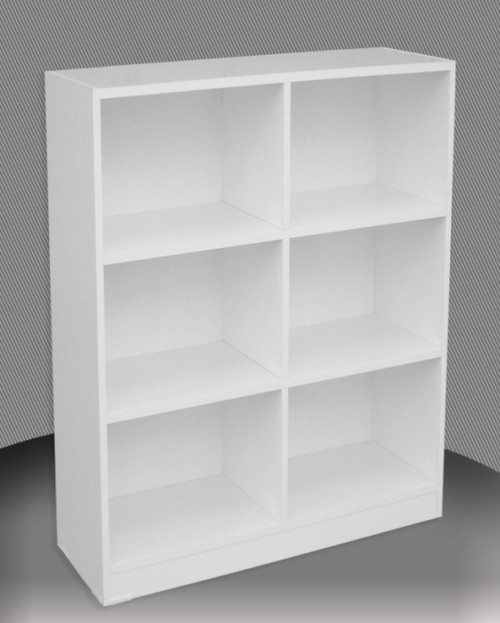 4FT BOX BOOKCASE (BOX4x3) - 1190(H) x 900(W) - ASSORTED COLOURS