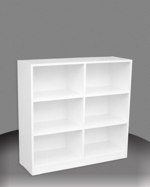 3FT BOX BOOKCASE (BOX3x4) - 860(H) x 1200(W) - ASSORTED COLOURS