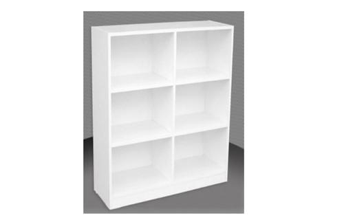 3FT BOX BOOKCASE (BOX3x2) - 860(H) x 600(W) - ASSORTED COLOURS