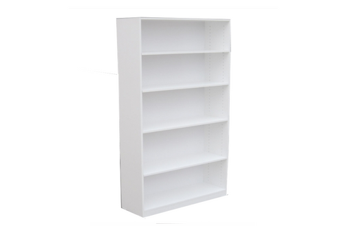 6FT HIGH BOOKCASE (6x18BC) - 1800(H) x 450(W) - ASSORTED COLOURS