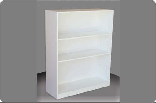 4FT HIGH BOOKCASE (4x3) - 1160(H) x 900(W) - ASSORTED COLOURS