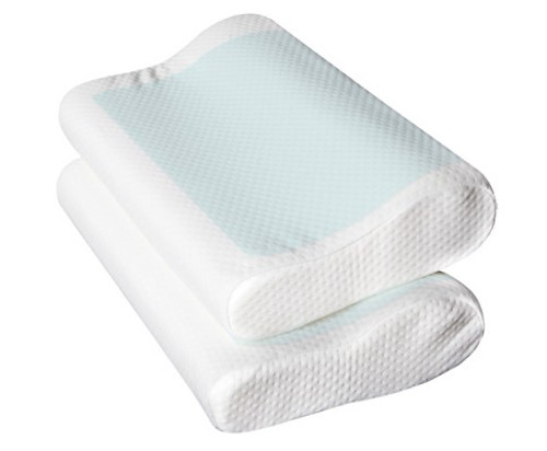 COOL GEL (SET OF 2)  TOP MEMORY FOAM PILLOW