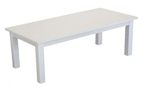 ADELINE COFFEE TABLE - WHITE