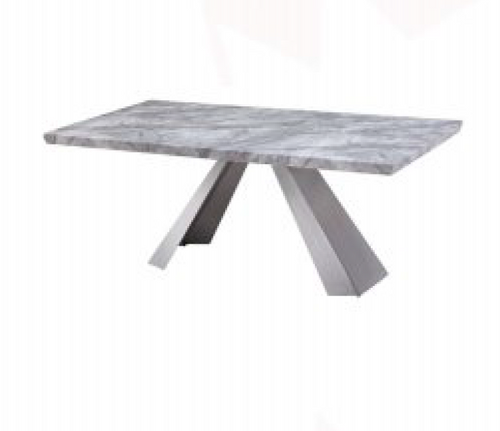 HONDI  DINING TABLE - 1800(W) X 1000(D) - (MODEL 3-1-19-1) - GREY