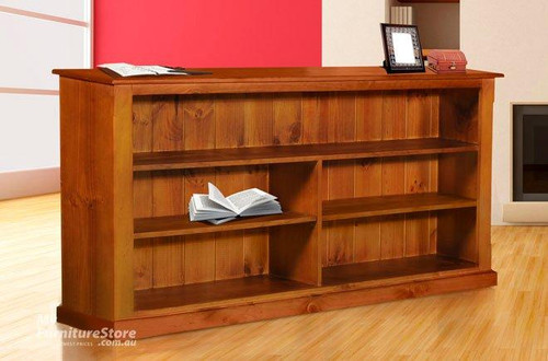 DRAGON / FEDERATION COLONIAL WITH FACING LOWLINE BOOKCASE (3 X 5) - 900(H) X 1500(W) - ASSORTED COLOURS