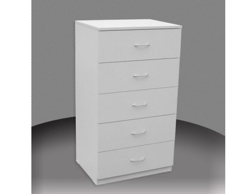 2FT 3 DRAWER HIGH CHEST (CD3) WITH METAL RUNNERS (NOT AS PICTURED) - ASSORTED COLOURS