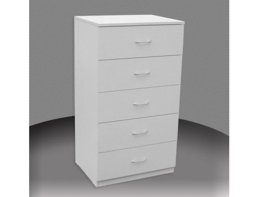 2FT 4 DRAWER HIGH CHEST (CD4) WITH METAL RUNNERS (NOT AS PICTURED) - ASSORTED COLOURS