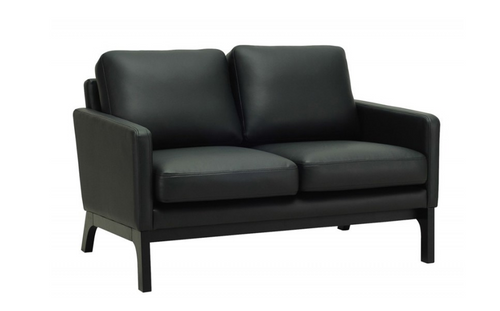 COVE TWIN (2) SEATER   LETHERETTE  SOFA CHAIR - ESPRESSOR