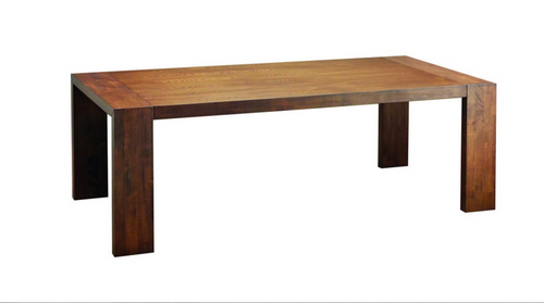 CLARKSON SCANDINAVIAN  DINING TABLE 2185(W) X 1000(D) -  COCOA