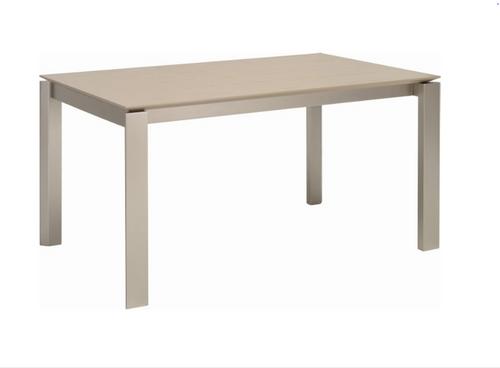 ELWOOD SCANDINAVIAN  DINING TABLE - 1500(W) X 1000(D) -  GREY