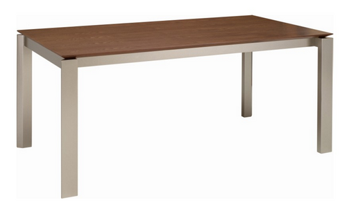 ELWOOD SCANDINAVIAN  DINING TABLE - 1800(W) X 1000(D) -  COCOA