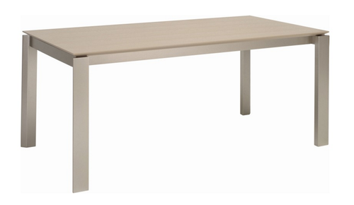 ELWOOD SCANDINAVIAN  DINING TABLE - 1800(W) X 1000(D) -  GREY