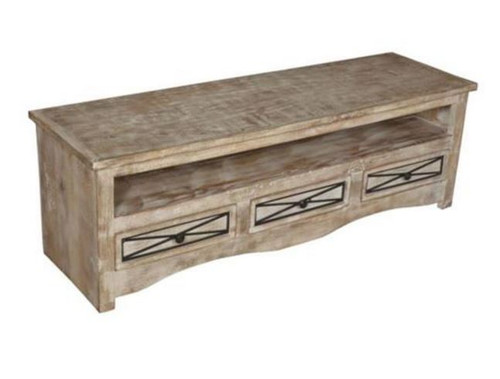 DENNY 1500(W) ENTERTAINMENT UNIT WITH 3 DRAWERS    (3-15-1-19-20-1-12) - NATURAL