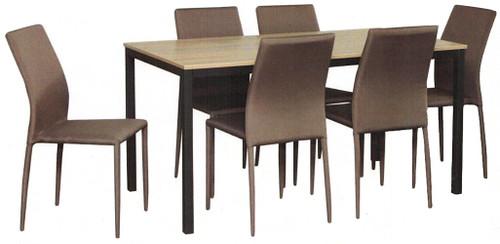 APOLLO DINING  TABLE 1500(L) X 800(W) -GREY WASH
