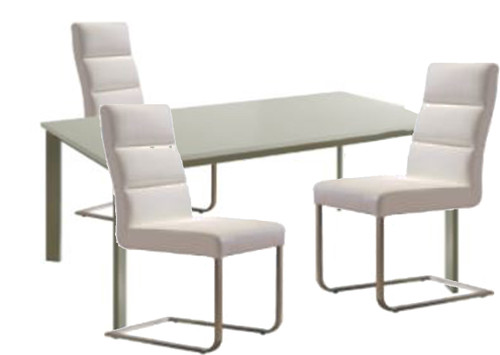 BOUTIQUE 7 PCE DINING SETTING - 6322K DINING CHAIRS