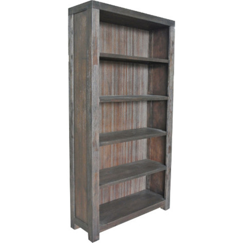 BALMORAL 5 NICHES BOOKSHELF - COFFEE BEAN