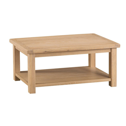 DOVIA (LO-CT) LAMP  TABLE WITH 1 DRAWER  -450(H) X 1000(W) X 600(D) -  WASHED OAK