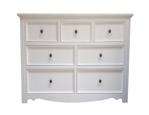 ANZAC 1500W 7 DRAWER CHEST - WHITE