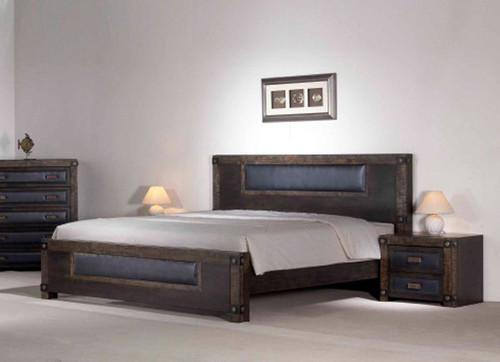 CALIBRA QUEEN 3 PIECE BEDSIDE BEDROOM SUITE - ZIRICOTE