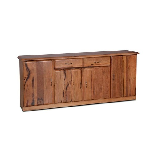 SOPRANO MARRI SIDEBOARD  BUFFET WITH 4 DOORS & 2 DRAWERS - NATURAL FINISH
