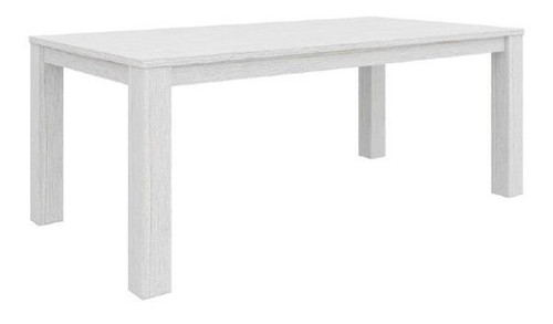MILDRED  1900(W)  RECTANGULAR DINING TABLE  (6-12-15-9-14-1)  - WHITE WASH