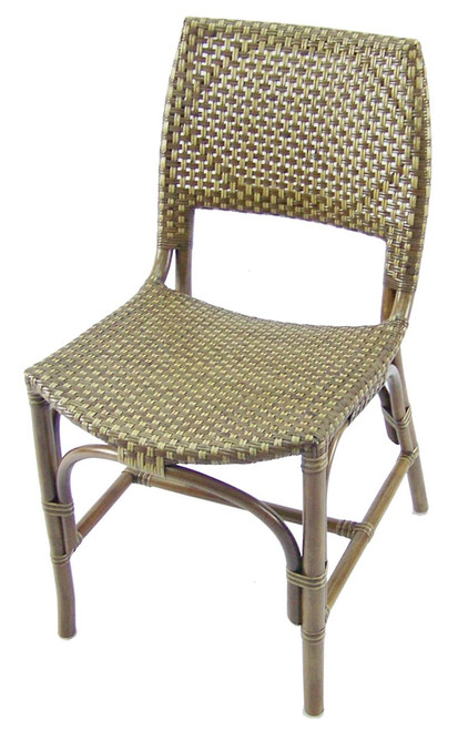 AUSTIN RATTAN DINING CHAIR - AS PICTURED