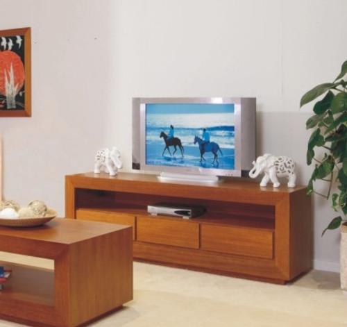 TASSIE OAK ELKE LOWLINE TV UNIT - 1800(W) - CHOICE OF COLOURS