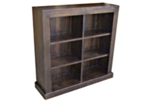 DERBY LOWLINE BOOKCASE 900(H) X 900(W) - ASSORTED COLOURS AVAILABLE