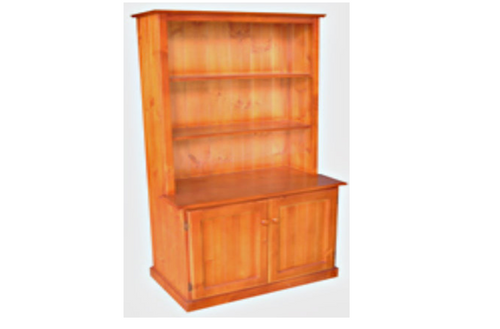 BOOKCASE COMBO + 2 DOORS - 1800(H) X 900(W) - ASSORTED COLOURS AVAILABLE