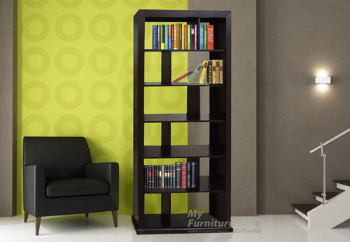 DERBY 12 BOX BOOKCASE / ROOM DIVIDER - 2000(H) X 1000(W) - ASSORTED COLOURS