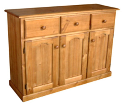 STANDARD BUFFET 3 DOORS / 3 DRAWERS - 900(H) X 1270(W) - ASSORTED COLOURS AVAILABLE