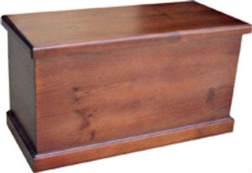 URBAN STORAGE BOX WITH SMOOTH TOP & SIDES 950(W) X 500(D) - ASSORTED COLOURS AVAILABLE