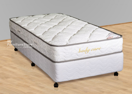 KING SINGLE BODY CARE ENSEMBLE (BASE & MATTRESS) - MEDIUM FIRM