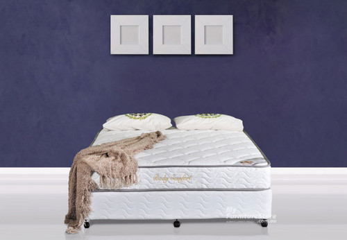 DOUBLE BODY CARE ENSEMBLE (BASE & MATTRESS) - MEDIUM FIRM
