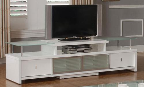 DIXON  TV ENTERTAINMENT UNIT -2120(W) x 570(D) -  WHITE FROST OR BLACK TINT